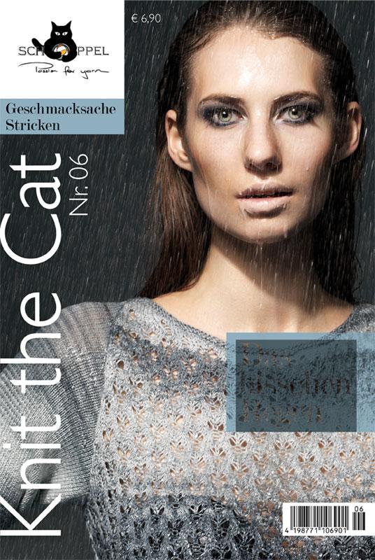 Schoppel Magazin Cover - Knit The Cat 06