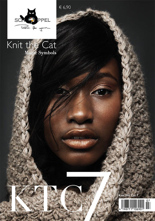 Schoppel Magazin Cover - Knit The Cat 07