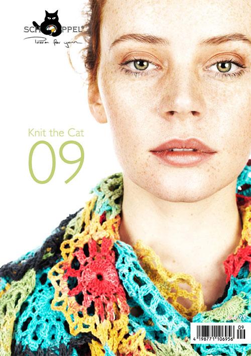Schoppel Magazin Cover - Knit The Cat 09