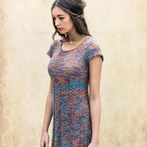 Louisa Harding - Strickpaket Kleid Mariposa