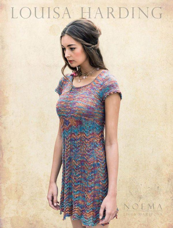 Louisa Harding - Strickpaket Kleid Mariposa