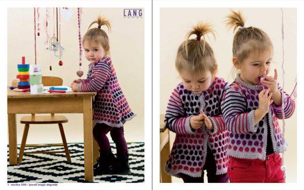 Lang Yarns Magazin - FAM 223 Baby - Leseprobe 1