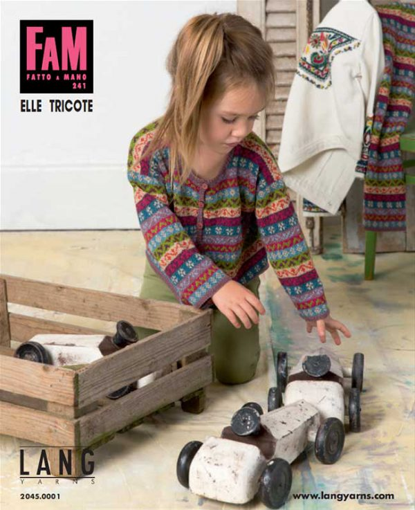 Lang Yarns Magazin - FAM 241 Elle Tricote