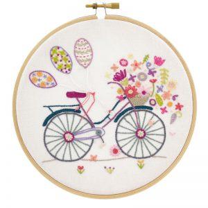 Stickpaket - Un chat dans l'aiguille - Fahrrad