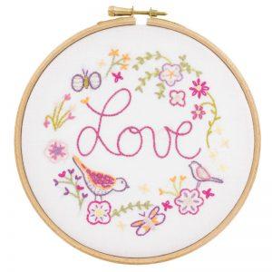 Stickpaket - Un chat dans l'aiguille - Love Love Love