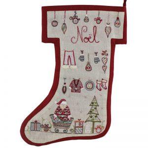 Stickpaket - Un chat dans l'aiguille - 658 Weihnachtsstiefel