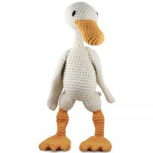 TOFT Häkelkit - Geraldine die Ente