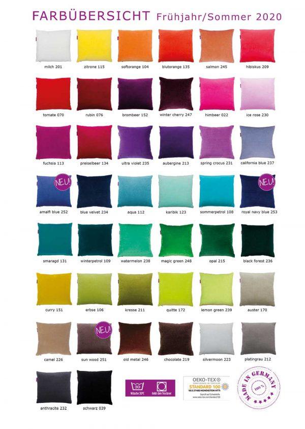 Farbenfreunde - Farbkarte 2020