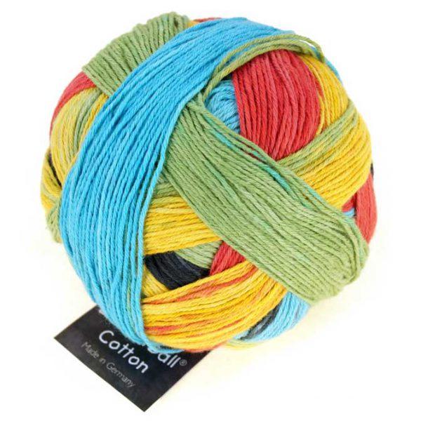 Zauberball Cotton - 2338 Echte Abwechslung