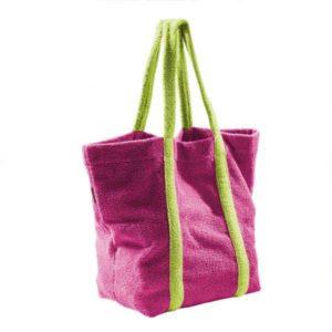 Fresh Frottee Beachbag - 113 Fuchsia