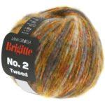 111 Orange/Taupe/Graubraun